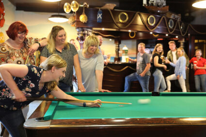 Billiard spielen im Wangerland